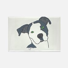 Brindle Rectangle Magnet (10 pack)