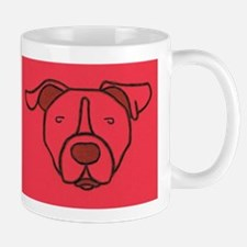 Red Pit Head Mug