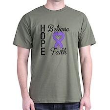 Hodgkins HopeBelieveFaith T-Shirt