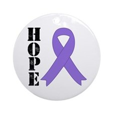 Hodgkin's Lymphoma Hope Ornament (Round)