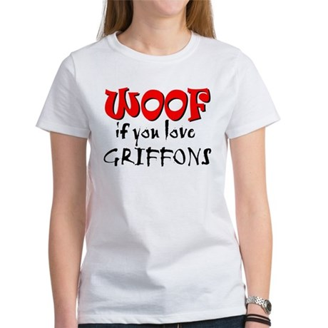 WOOF Griffons Women's T-Shirt