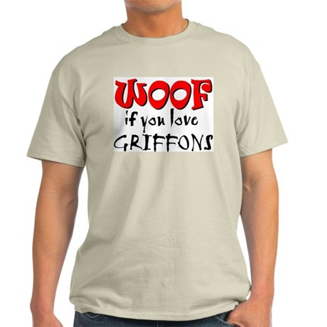 WOOF Griffons Light T-Shirt