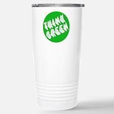 green think Travel Mug