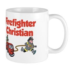 Firefighter Christian Mug