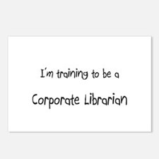 I'm training to be a Corporate Librarian Postcards