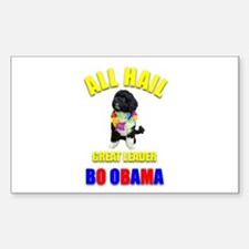 Bo Obama Rectangle Decal