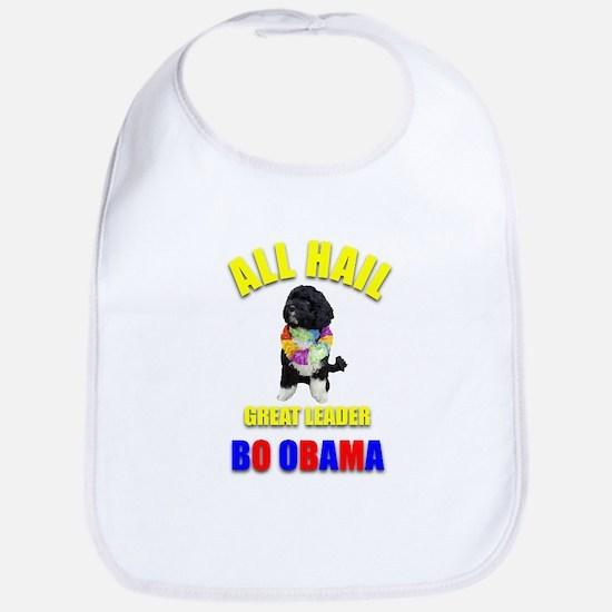 Bo Obama Bib