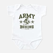 Army Boxing Infant Bodysuit