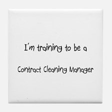 I'm training to be a Contract Cleaning Manager Til
