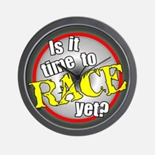 Time to Race Wall Clock