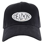 Dead-On Black Cap