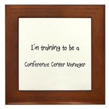 I'm training to be a Conference Center Manager Fra
