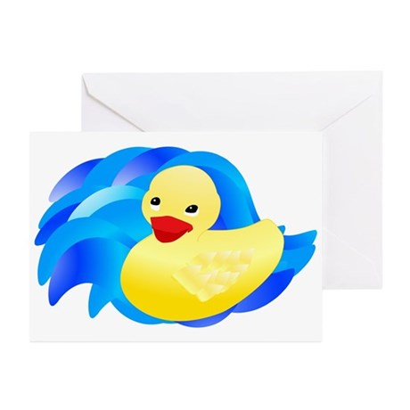 Rubber Ducky Greeting Cards (Pk of 10)
