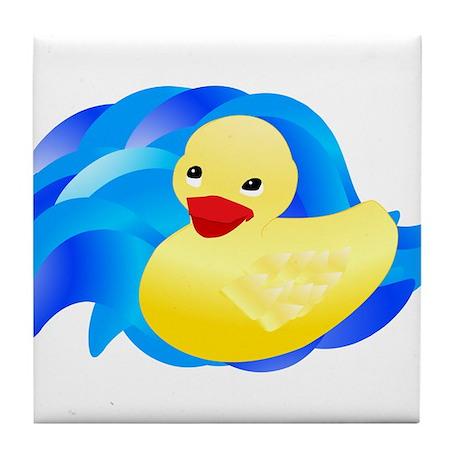 Rubber Ducky Tile Coaster