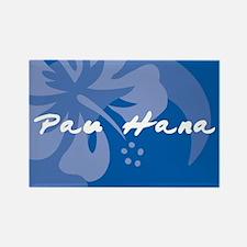 Pau Hana Rectangle Magnet