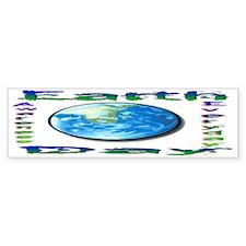 Earth Day 6 Bumper Bumper Sticker