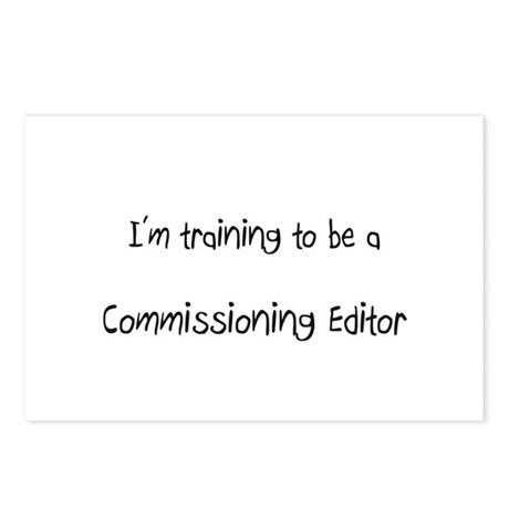 I'm training to be a Commissioning Editor Postcard