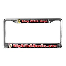 Big Slick Sucks Poker License Plate Frame!