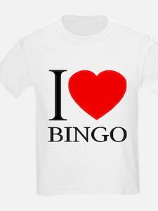 I (Heart) BINGO T-Shirt