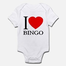 I (Heart) BINGO Infant Bodysuit