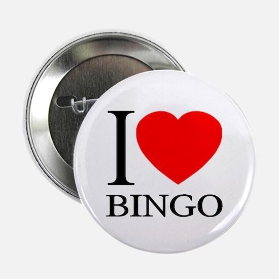 "I (Heart) BINGO 2.25"" Button"