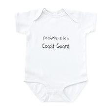 I'm training to be a Coast Guard Infant Bodysuit