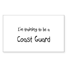 I'm training to be a Coast Guard Decal