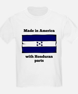 Made In America With Honduran Parts T-Shirt