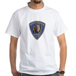 White Pigeon Police White T-Shirt