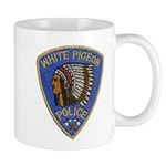 White Pigeon Police Mug