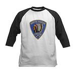 White Pigeon Police Kids Baseball Jersey