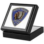 White Pigeon Police Keepsake Box