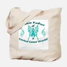 Proud Cervical Tribal Father Tote Bag