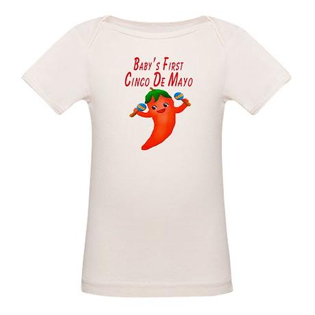 Baby's First Cinco De Mayo Organic Baby T-Shirt