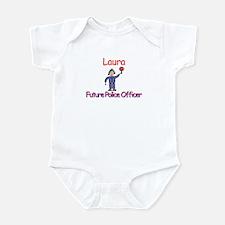 Laura - Future Police Infant Bodysuit