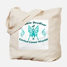 Proud Cervical Tribal Brother Tote Bag