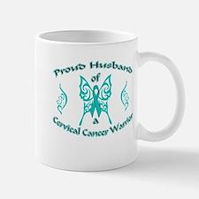 Proud Cervical Tribal Husband Mug