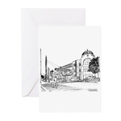 Hillcrest San Diego Greeting Cards (Pk of 10)