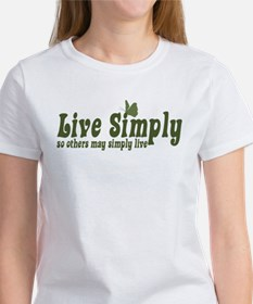 Live Simply Women's T-Shirt