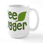 Tree Hugger Large Mug