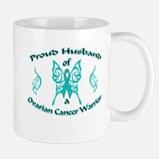 Proud Ovarian Tribal Husband Mug