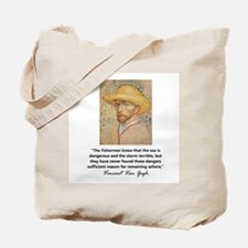 """""""Vincent Van Gogh"""" Tote Bag"""