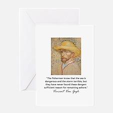 """Vincent Van Gogh"" Greeting Card"
