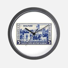 Philately Wall Clock