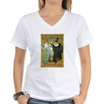 Parisian Absinthe Women's V-Neck T-Shirt