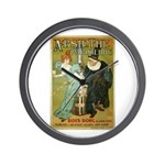 Parisian Absinthe Wall Clock