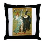 Parisian Absinthe Throw Pillow