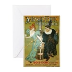 Parisian Absinthe Greeting Cards (Pk of 10)