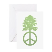 Peace Grows Greeting Card