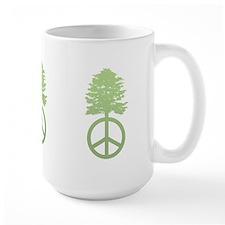 Peace Grows Mug